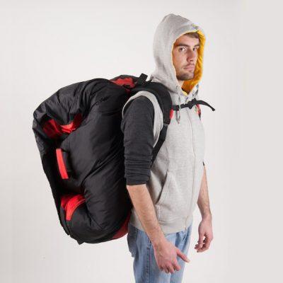 RUCKSACKS, STUFFSACKS & CONCERTINA BAGS