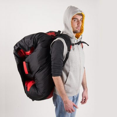 RUCKSACKS, STUFFSACKS & CONCERTINA BAGS